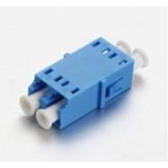 image of LC-LC SM Single mode Fiber Optic Joint Duplex Coupler Flange (S511)