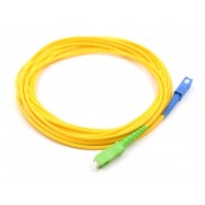 image of SC/UPC- SC/APC SINGLE MODE SIMPLEX FIBER OPTIC CABLE 20M (S515)