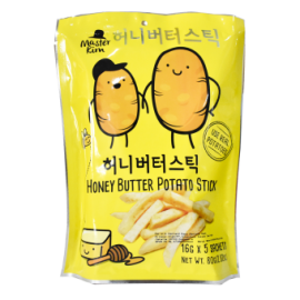 image of Master Kim Honey Butter Potato Stick 80G