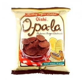image of Oishi Opala Chocolate Potato Chips 100G