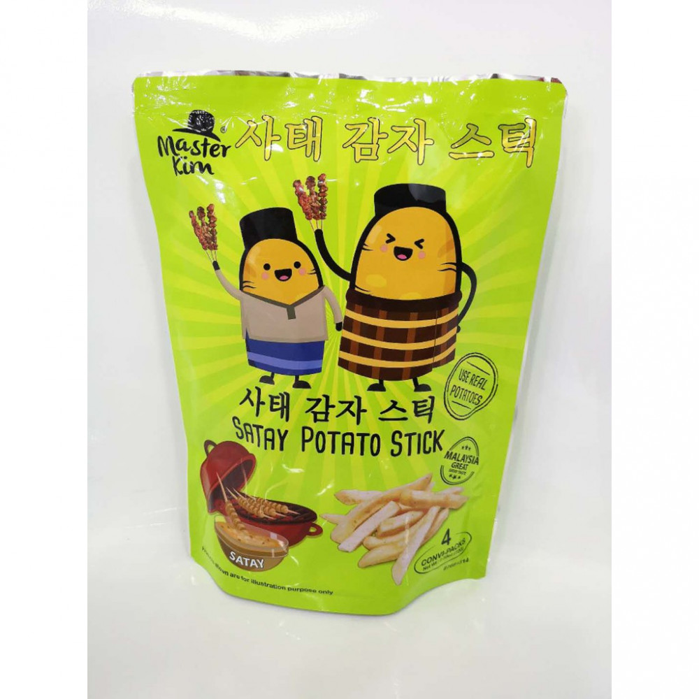 Master Kim Satay Potato Stick