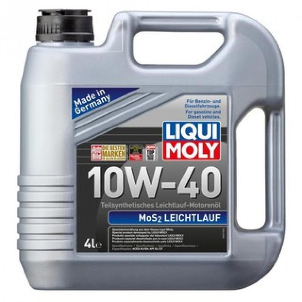 Liqui Moly Semi Leichtlauf Mos2 10w40 Engine Oil (4L)