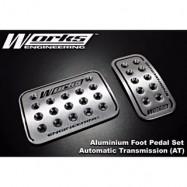 image of Works Engineering Aluminium Foot Pedal Set (Automatic)