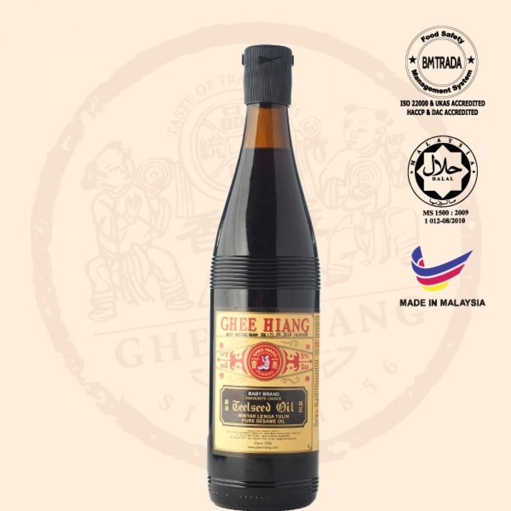 Pure Sesame Oil (Black Label) 580ml