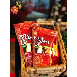 image of Double Pack Pure Sesame Oil 3ml x 30 sachets Only RM9.90