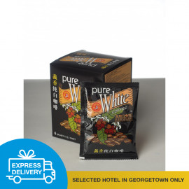 image of 【Express Delivery】Pure White coffee (Less Sugar) 30 g x 6 sachets