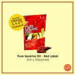Pure Sesame Oil 3ml x 30 sachets