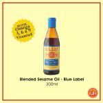Blended Sesame Oil (Blue Label) 300ml
