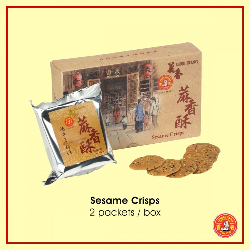 Sesame Crisps 2 packets