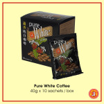 Pure White Coffee 40 g x 10 sachets