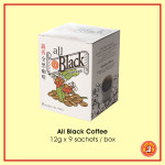 All Black Coffee 12 g x 9 sachets