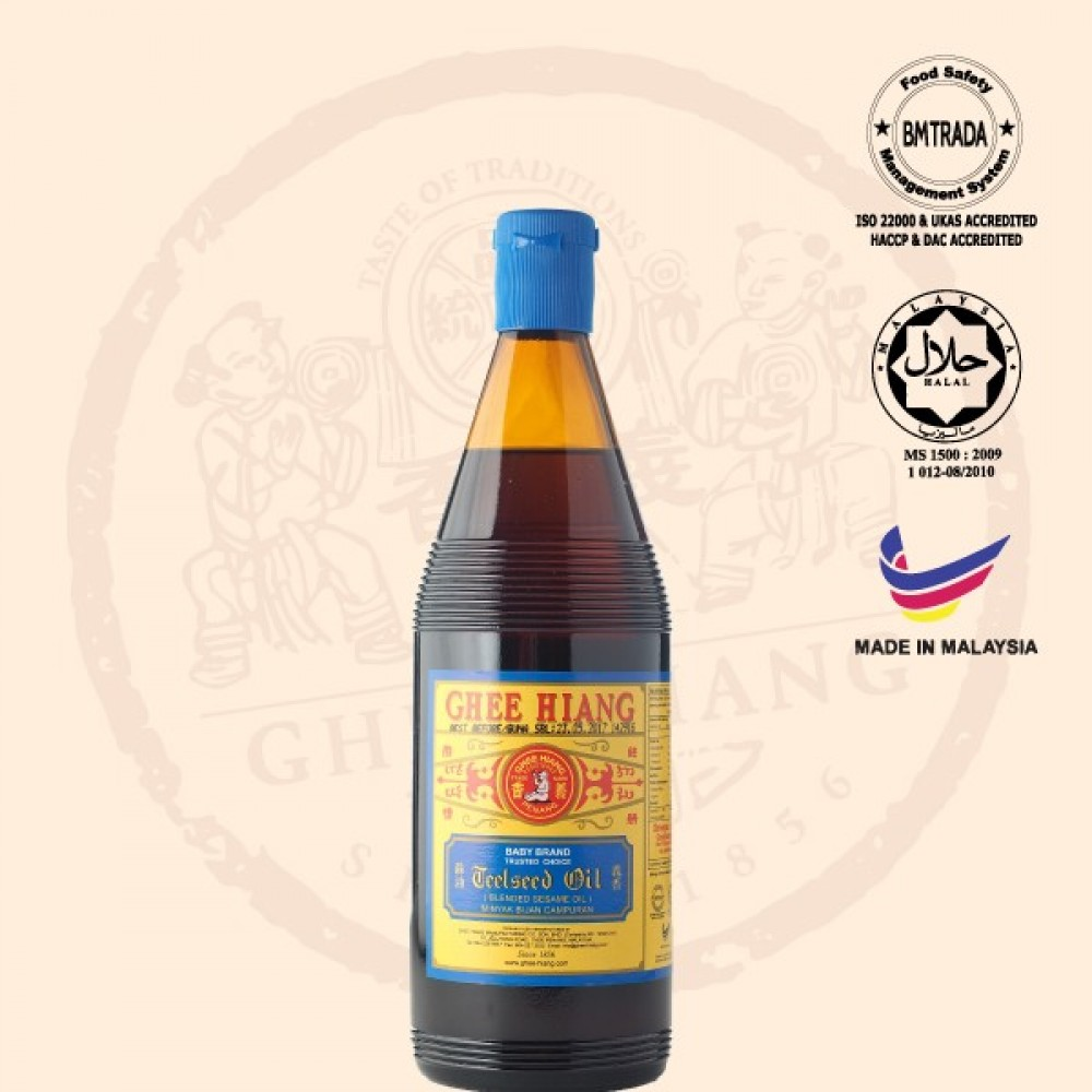 Blended Sesame Oil (Blue Label) 680ml