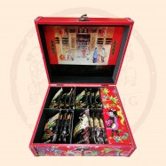 image of Ghee Hiang Chinese New Year Premium Gift Set 3(Wooden Box)