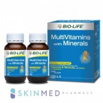 BIO-LIFE MULTIVITAMINS WITH MINERALS 100S X 2