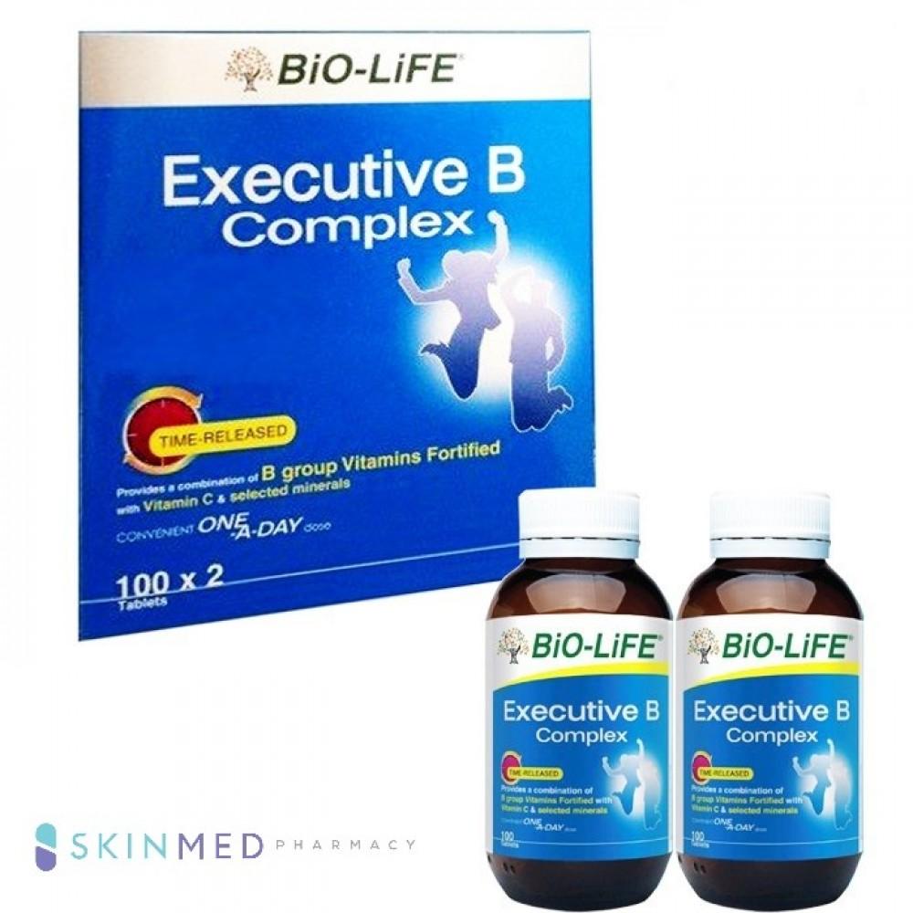 BIO-LIFE EXECUTIVE B COMPLEX 100S X 2