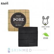 image of KLAIRS GENTLE BLACK SUGAR CHARCOAL SOAP 100G