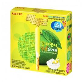 image of [Joy Snacks] Lotte Pepero Calamansi Yogurt 50G - KN242