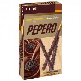 image of [Joy Snacks] Korea Lotte Pepero Choco Cookie Big Pack (32g X 8pack) 256g - KN186