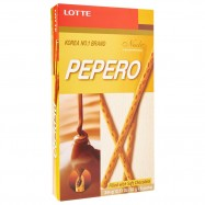 image of [JoySnacks]Lotte Nude Pepero Soft & Creamy Chocolate Big Pack(43g x 8)