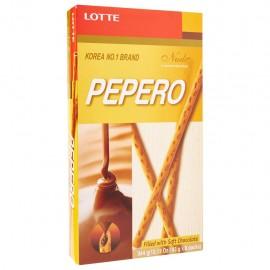 image of [JoySnacks]Lotte Nude Pepero Soft & Creamy Chocolate Big Pack(43g x 8)