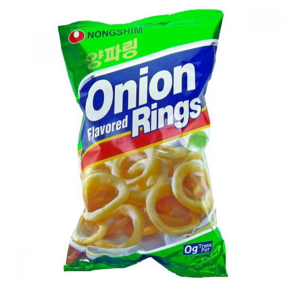 [Joy Snacks] Korea Nongshim Onion Rings 90g - KN49
