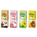 [Joy Snacks] Korean BINGGRAE Milk 200ml (Banana,Strawberry,Melon,Coffee)