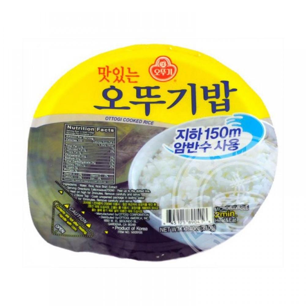 [Joy Snacks] Ottogi Tasty Cooked Rice 210g- KN188