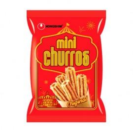 image of [Joy Snacks] Korea Nongshim Mini Churros Snack 70g Original Flavor - KN48