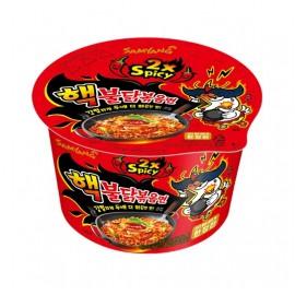 image of [Joy Snacks] Korea Samyang 2X Spicy Chicken Ramen Big Bowl 105g - KN403