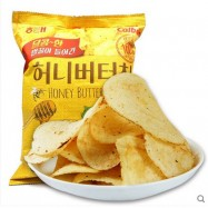 image of [Joy Snacks] Korea Calbee Honey Butter Chip 60g - KN104