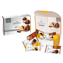 image of [Joy Snacks] ABK Kresko Dessert Mix Sweets Milk & Chocolate Flavor 140g - KN411