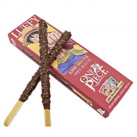 image of [Joy Snacks] Korea Sunyoung One Piece Luffy Almond Choco Stick 54g - KN422
