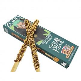 image of [Joy Snacks] Korea Sunyoung One Piece Zoro Cheese Choco Stick 54g - KN422