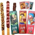 Joy Snacks] Korea Sunyoung One Piece Zoro Luffy Chopper Choco Stick 54g - KN422