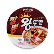 image of [Joy Snacks] Paldo Seafood Flavored Instant Ramen Bowl 110g - KN264