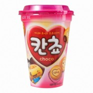 image of [Joy Snacks] Lotte Cancho Love Choco Cup Cookies Kids Snack 95g -KN32