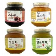 image of [Joy Snacks] Hansung KMT Tea (Citron Honey, Jujube, Ginger, Aloe) 1KG