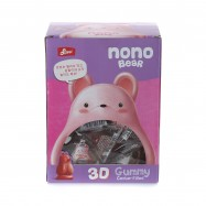 image of [Joy Snacks] Korea Suwei Nono Bear 3D Gummy Jelly Mango Box 576g