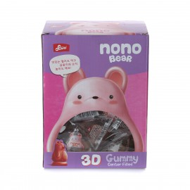 image of [Joy Snacks] Korea Suwei Nono Bear 3D Gummy Jelly Mango Box 576g