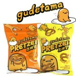 [Joy Snacks] Korea Gudetama Cheese / Hot Spicy Pretzel 40g - KN440 / KN441