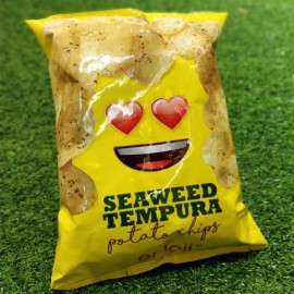 image of [Joy Snacks] Thailand Emoji Seaweed Shrimp Tempura Potato Chips 75g - KN444