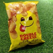 image of [Joy Snacks] Thailand Emoji Double Cheese Potato Chips 75g - KN443