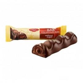 image of [JoySnacks]Ukraine ABK Kresko Chocolate Bar38g-KN413-Batonchik Bar without Sugar