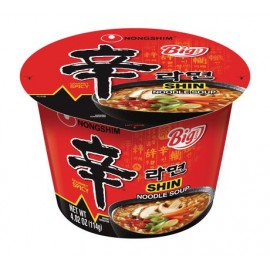 image of [Joy Snacks] Nongshim Shin Big Bowl Cup Noodle Soup 114g -KN12