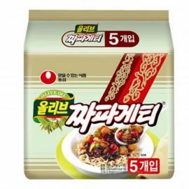 image of [Joy Snacks] Nongshim Chapagetti Noodle Pasta (140gx5ea) - KN09