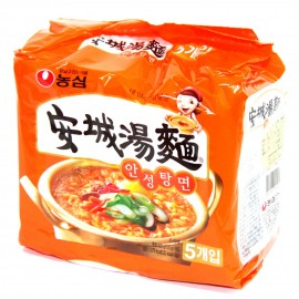 image of [Joy Snacks] Nongshim Ansungtangmyun Instant Noodles (125gx5ea) - KN10