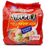 image of [Joy Snacks] Nongshim Korea Neoguri Spicy Udon Noodle (120gx5ea) - KN11