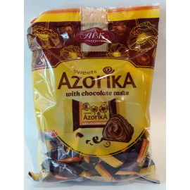 image of [Joy snacks] ABK Azorika With Chocolate Taste Sweet Pack 250g - KN159