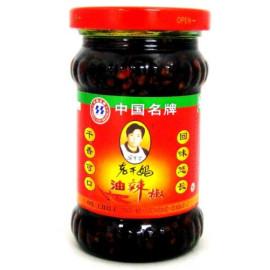 image of [JoySnacks] LaoGanMa Chili Oil 老干妈油辣椒 (275g) -KN223-b