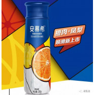 image of [Joy Snacks] AnMuXi Yogurt Drink Pineapple Grapefruit Halal 230g KN168